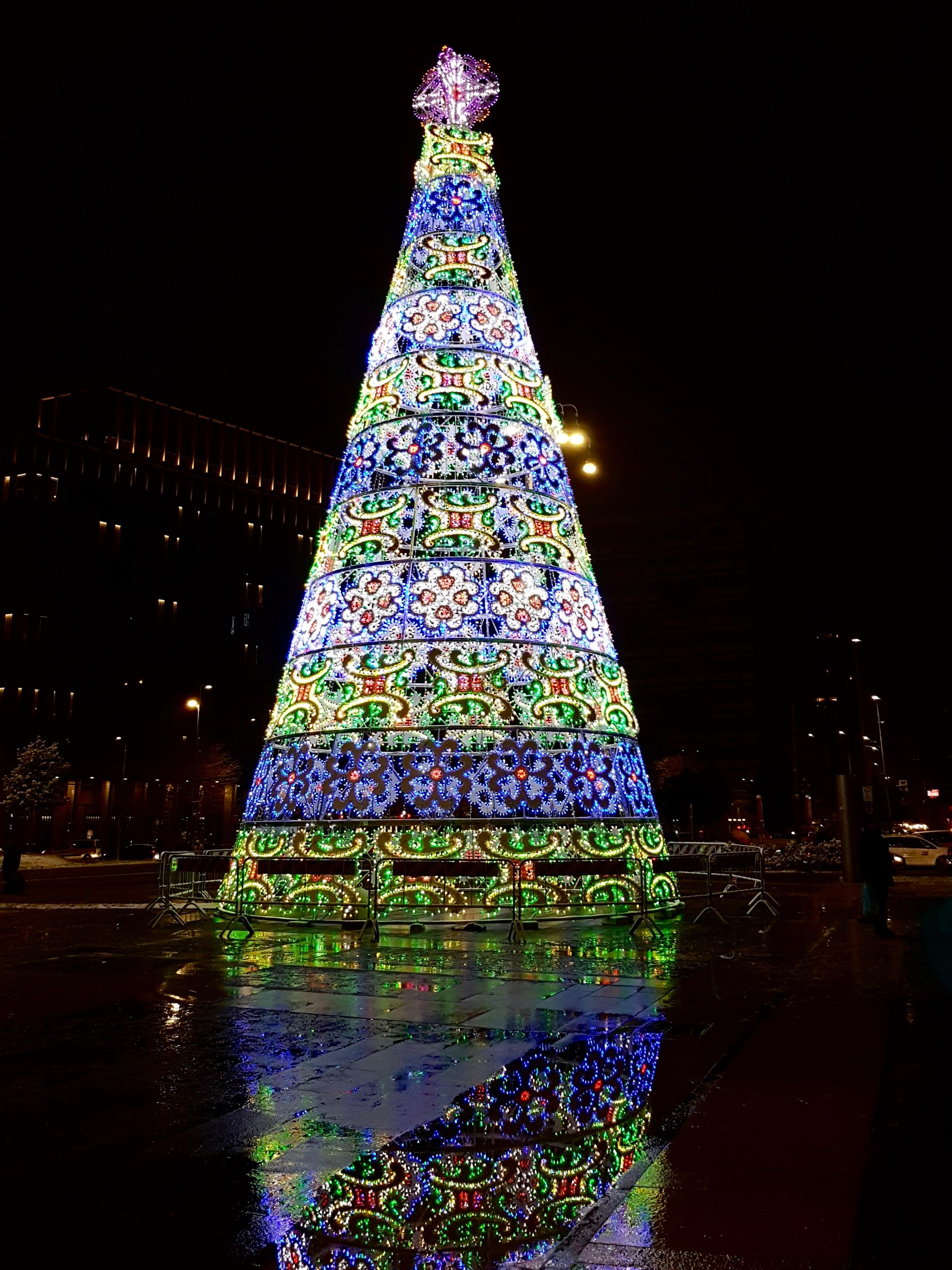 Albero Di Natale 6 Mt.L Albero Di Natale A Torino Un Natale Magico